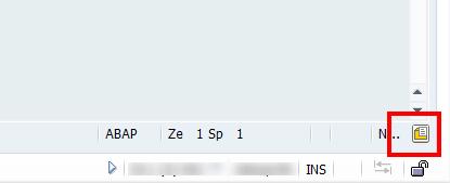 Optionen in SE 80 sind über das Icon erreichbar
