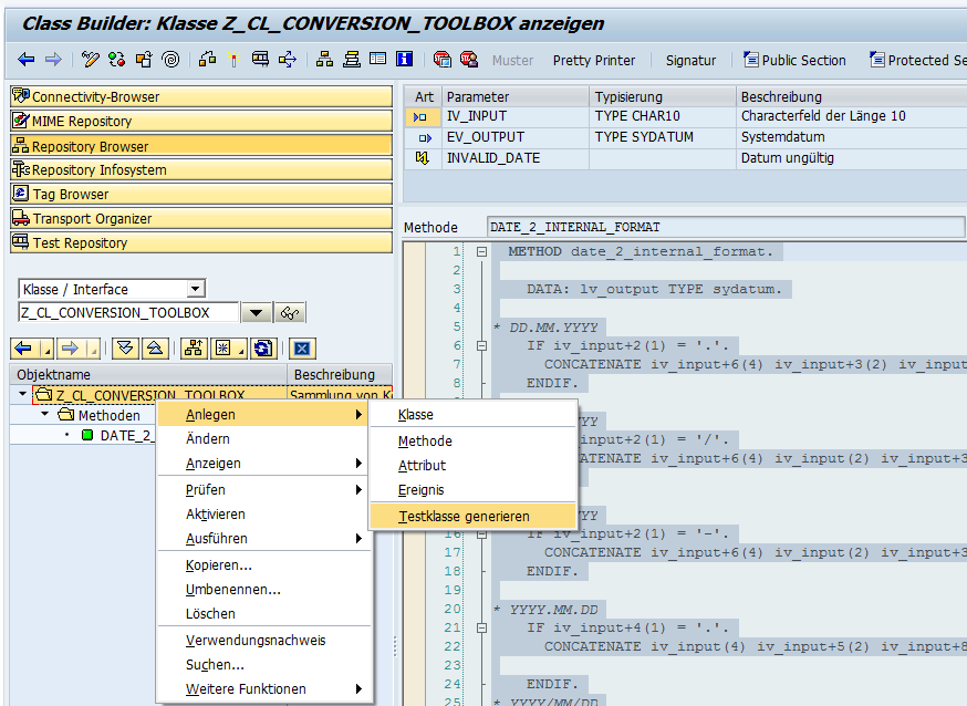 ABAP Unit Test Wizard 1
