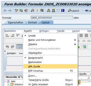 XML Quelle öffnen